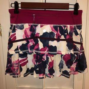 Lululemon Pace Setter Skirt size 2 Bumble Berry